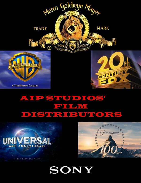 AIP Studios (TM). Motion picture production and distribution